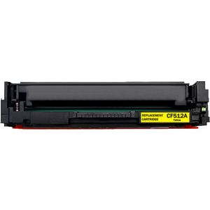 HP CF512A (204A) Yellow Compatible Toner Cartridge with newest CHIP