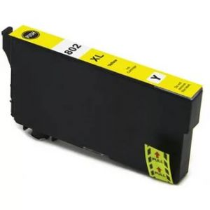 Epson 802XL Yellow High Yield Compatible Ink Cartridge