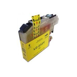Brother LC-233XL Yellow Compatible High Yield Ink Cartridge