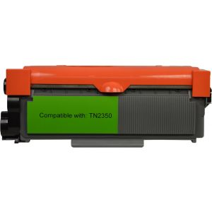 Brother TN-2350 Compatible High Yield Toner Cartridge