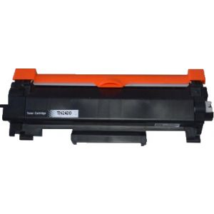 Brother TN-2430 Compatible Toner Cartridge with NO CHIP